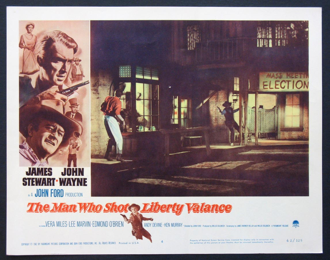 the turning point in the man who shot liberty valance a film by john ford The man who shot liberty valance (/ ˈ v æ l ə n s /) is a 1962 american western film directed by john ford starring james stewart and john wayne the black-and.