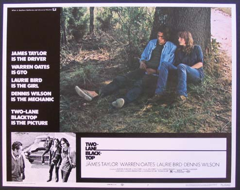 TWO-LANE BLACKTOP (Two Lane Blacktop) @ FilmPosters.com