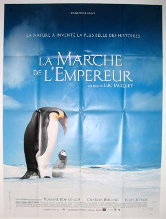 MARCH OF THE PENGUINS (Marche de L'Empereur, La) @ FilmPosters.com