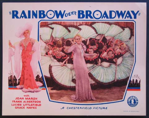 RAINBOW OVER BROADWAY @ FilmPosters.com