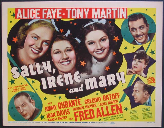 SALLY, IRENE AND MARY @ FilmPosters.com