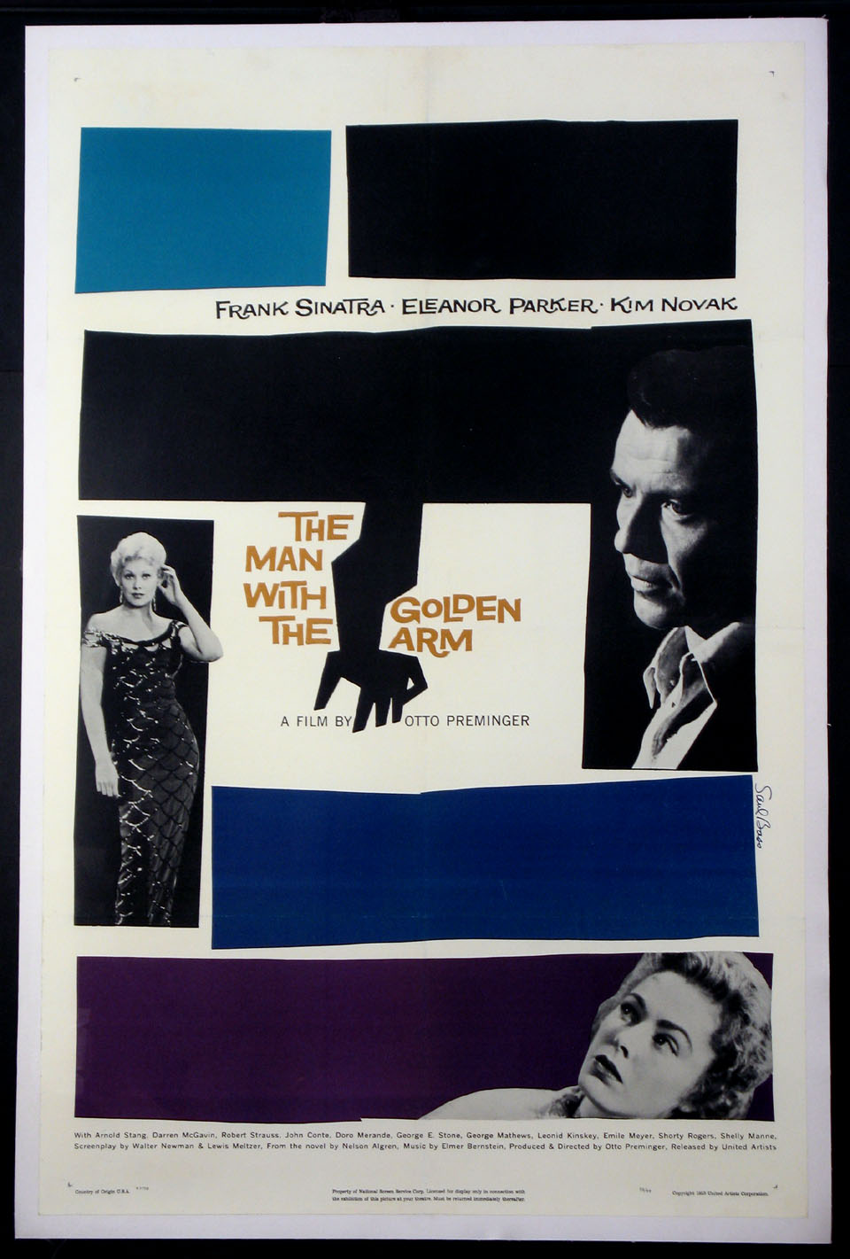 MAN WITH THE GOLDEN ARM @ FilmPosters.com