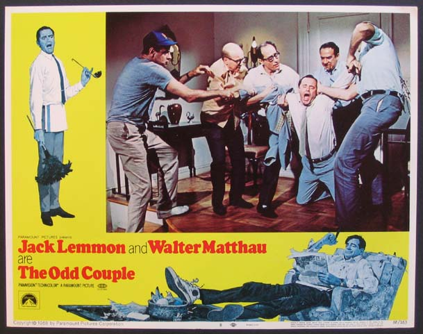 ODD COUPLE, THE (The Odd Couple) Movie Poster (1968)