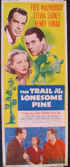 TRAIL OF THE LONESOME PINE, THE @ FilmPosters.com