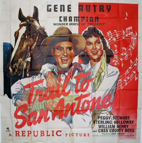TRAIL TO SAN ANTONE @ FilmPosters.com