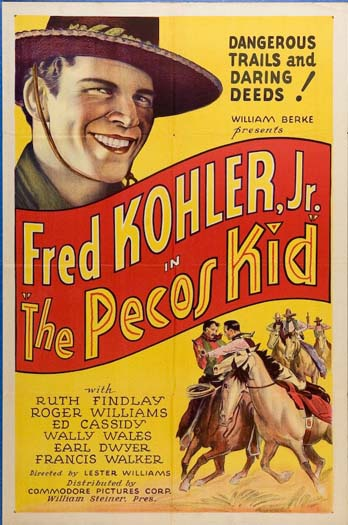 PECOS KID, THE (The Pecos Kid) @ FilmPosters.com