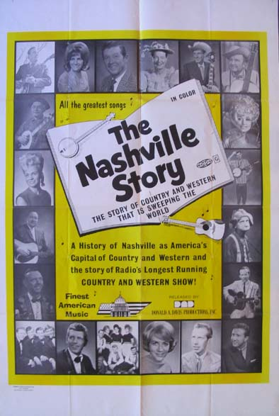 NASHVILLE STORY (The Nashville Sound) @ FilmPosters.com