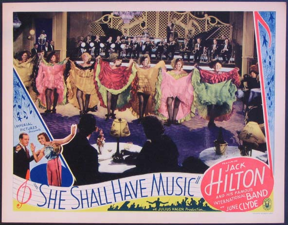 SHE SHALL HAVE MUSIC @ FilmPosters.com