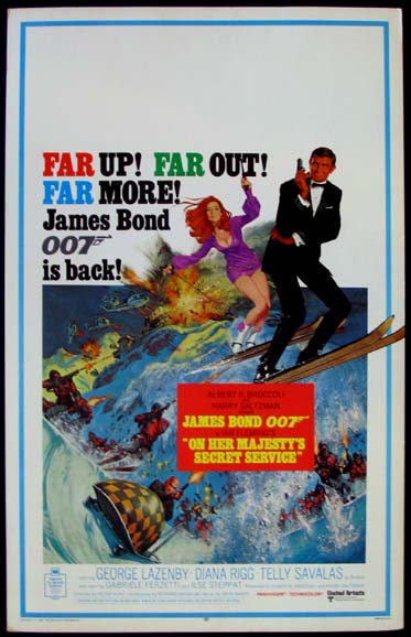 ON HER MAJESTY'S SECRET SERVICE @ FilmPosters.com