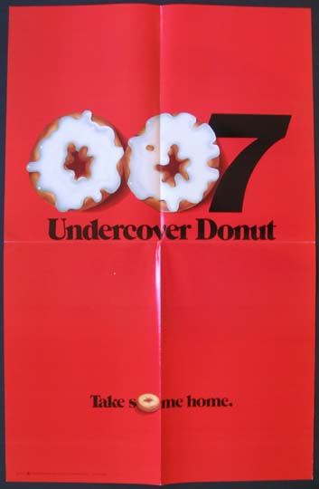 MAN WITH THE GOLDEN GUN: 007 UNDERCOVER DONUT @ FilmPosters.com