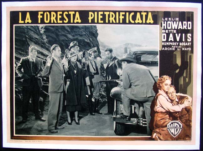 PETRIFIED FOREST, THE @ FilmPosters.com
