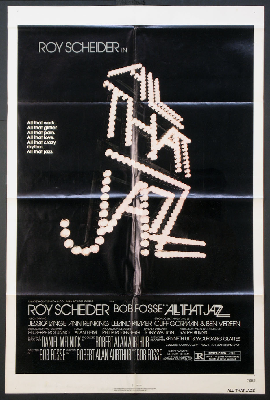 ALL THAT JAZZ @ FilmPosters.com