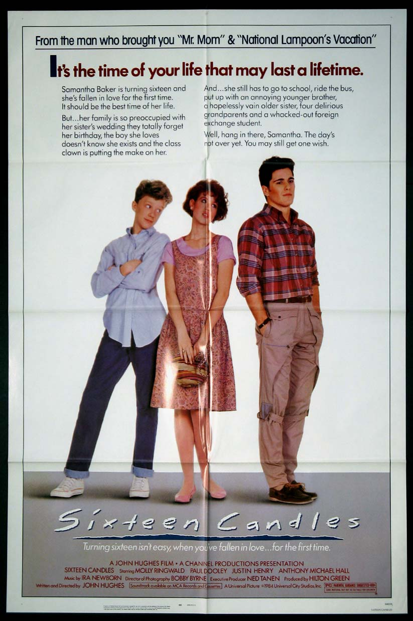 SIXTEEN CANDLES (16 Candles) @ FilmPosters.com