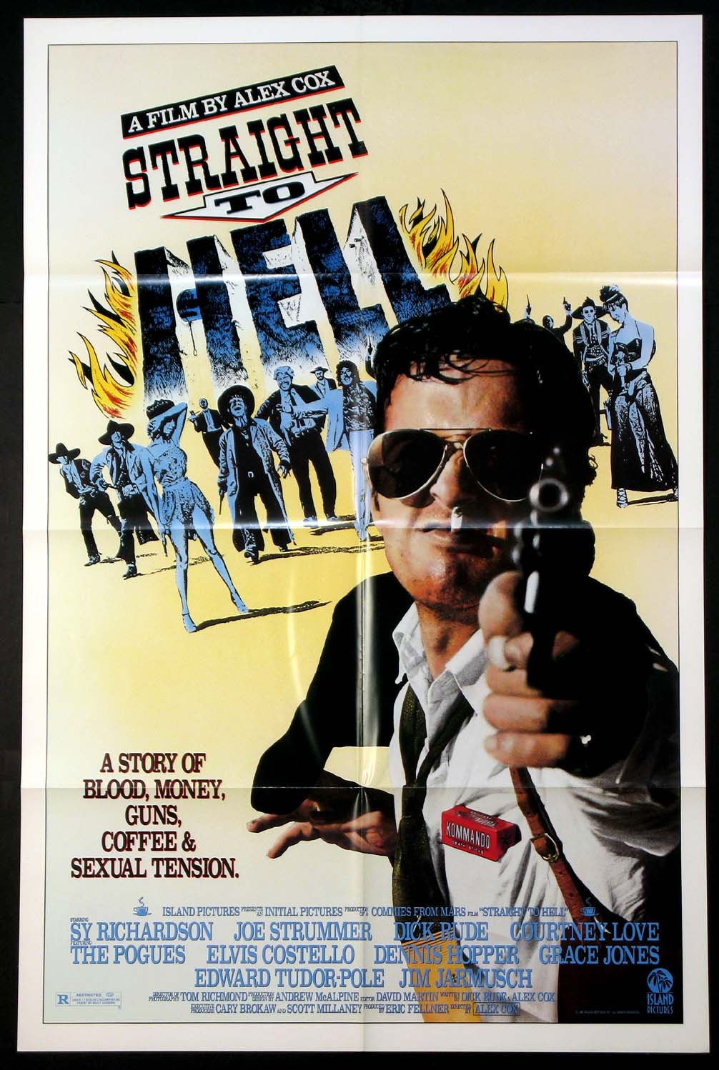 STRAIGHT TO HELL @ FilmPosters.com