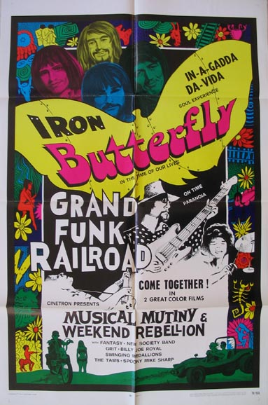 MUSICAL MUTINY AND WEEKEND REBELLION @ FilmPosters.com