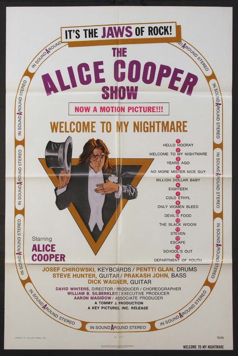 ALICE COOPER: WELCOME TO MY NIGHTMARE @ FilmPosters.com