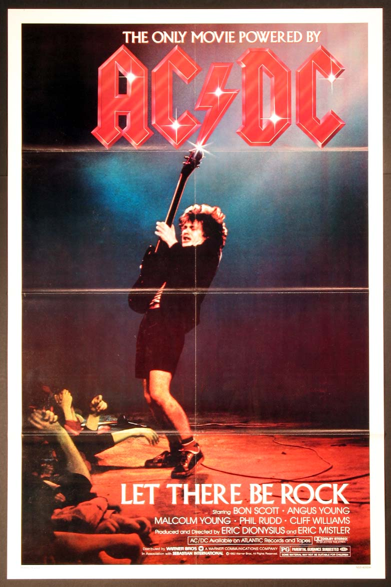 AC/DC LET THERE BE ROCK @ FilmPosters.com