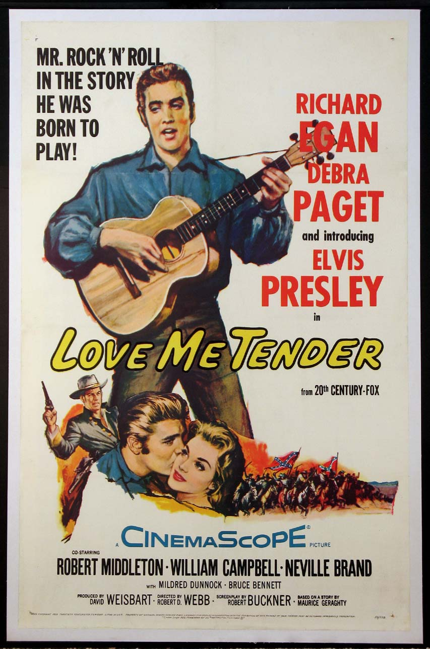 LOVE ME TENDER @ FilmPosters.com