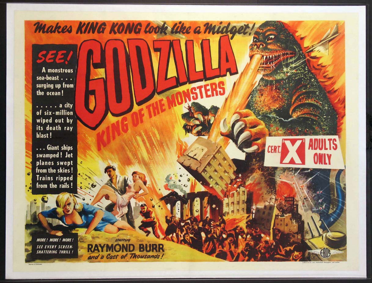 GODZILLA (Godzilla, King of the Monsters) @ FilmPosters.com