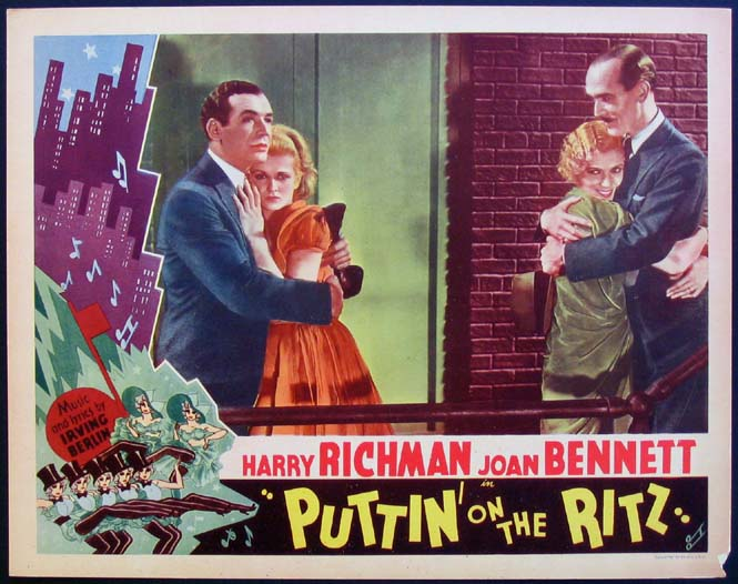 PUTTIN' ON THE RITZ (Puttin on the Ritz) @ FilmPosters.com