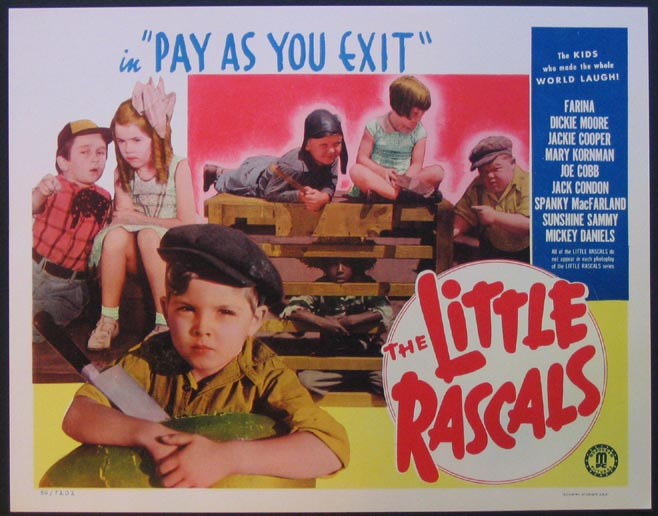 PAY AS YOU EXIT (Little Rascals) @ FilmPosters.com