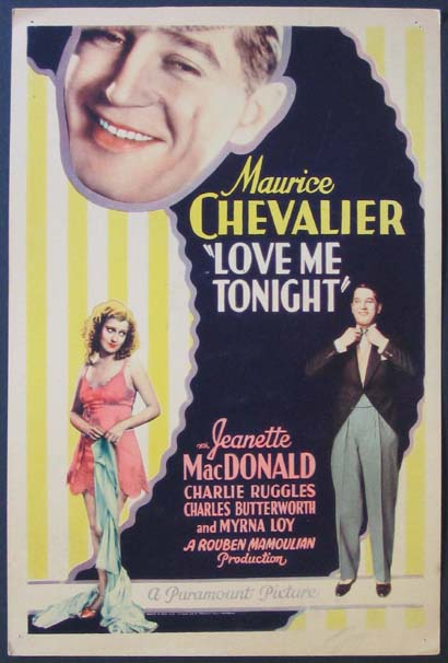 LOVE ME TONIGHT @ FilmPosters.com
