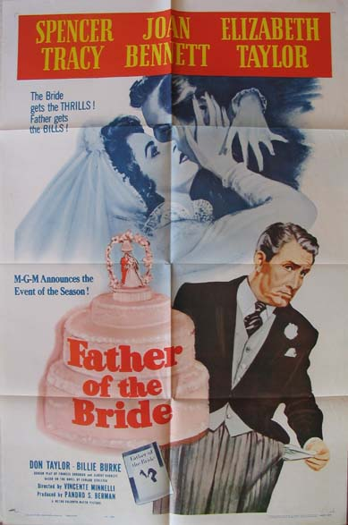 FATHER OF THE BRIDE @ FilmPosters.com