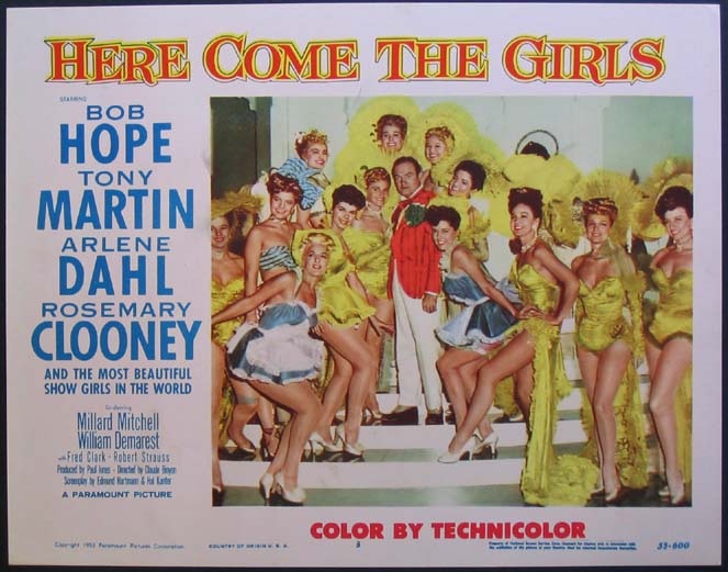 HERE COME THE GIRLS @ FilmPosters.com