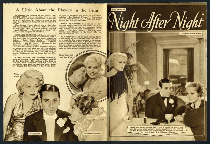 night after night 1932 movie the crusader