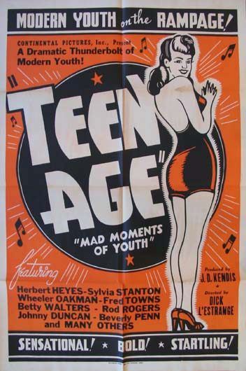 TEENAGE (Teen Age) @ FilmPosters.com