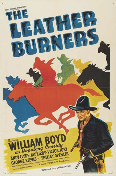 LEATHER BURNERS, THE @ FilmPosters.com