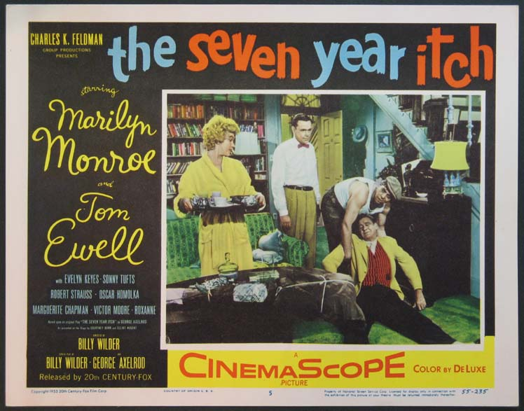 SEVEN YEAR ITCH, THE (The Seven Year Itch) @ FilmPosters.com