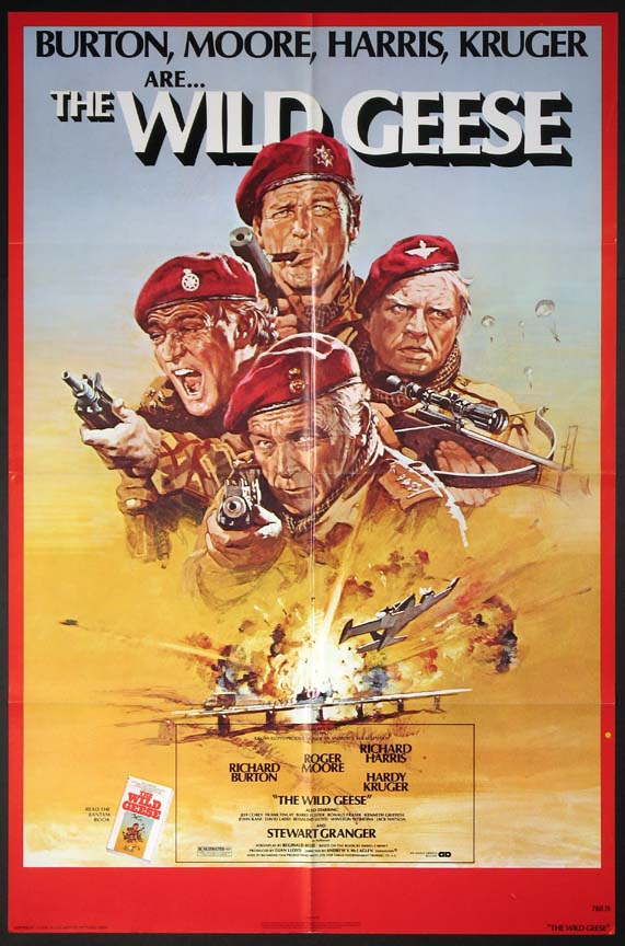 WILD GEESE, THE @ FilmPosters.com