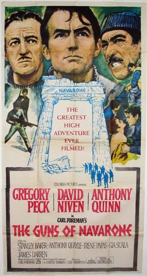 GUNS OF NAVARONE, THE @ FilmPosters.com