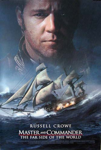 MASTER AND COMMANDER: THE FAR SIDE OF THE WORLD @ FilmPosters.com
