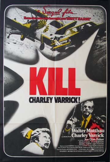 CHARLEY VARRICK (Kill Charley Varrick) @ FilmPosters.com