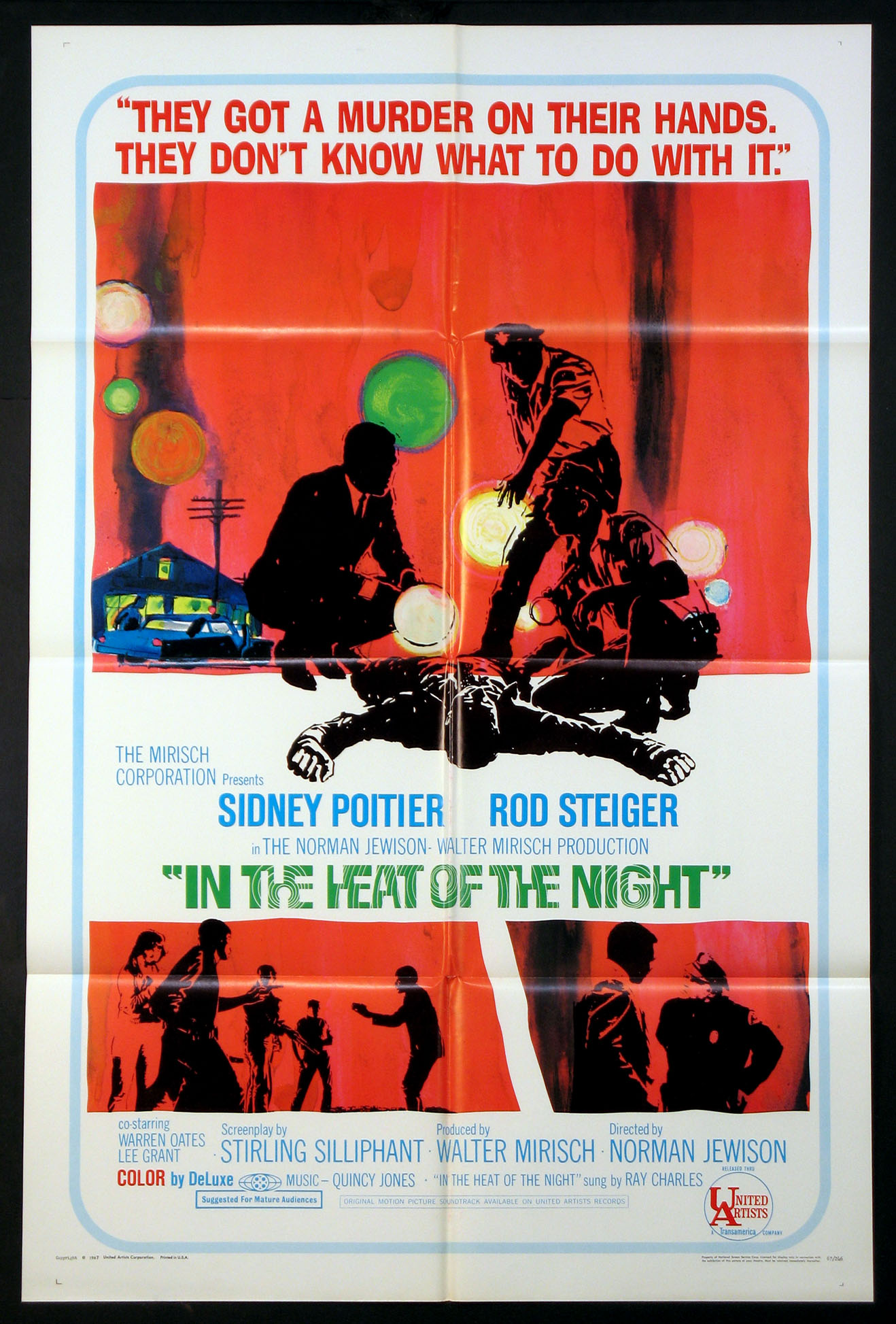 IN THE HEAT OF THE NIGHT @ FilmPosters.com