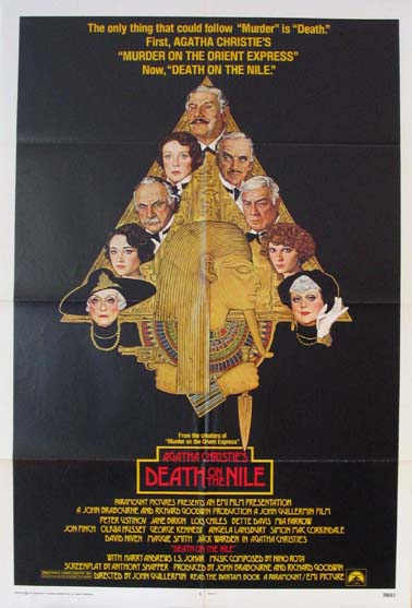 DEATH ON THE NILE @ FilmPosters.com