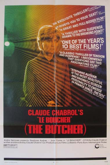 BUTCHER,THE (Boucher, Le) @ FilmPosters.com