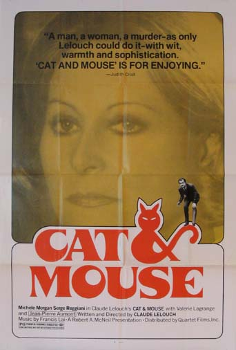 CAT AND MOUSE (Chat et la souris, Le) @ FilmPosters.com