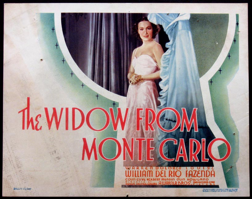 WIDOW FROM MONTE CARLO @ FilmPosters.com