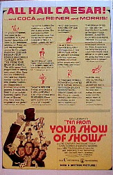TEN FROM YOUR SHOW OF SHOWS @ FilmPosters.com