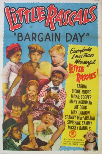 BARGAIN DAY (Little Rascals) @ FilmPosters.com
