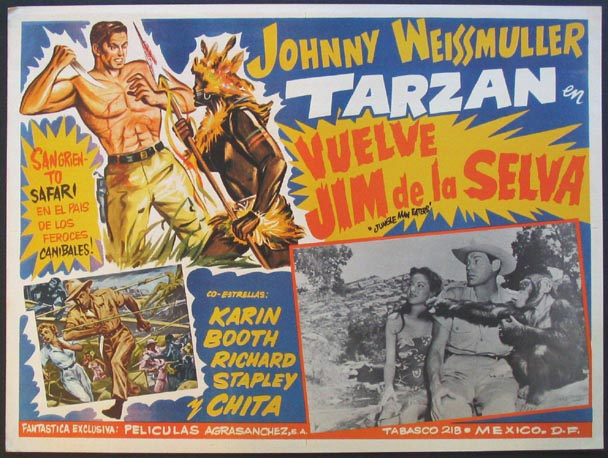JUNGLE MAN-EATERS @ FilmPosters.com