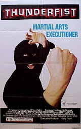 THUNDERFIST, Martial Arts Executioner @ FilmPosters.com