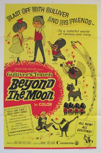 GULLIVER'S TRAVELS BEYOND THE MOON (aka Space Gulliver, Gariba no uchu ryoko) @ FilmPosters.com