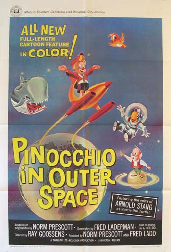 PINOCCHIO IN OUTER SPACE @ FilmPosters.com