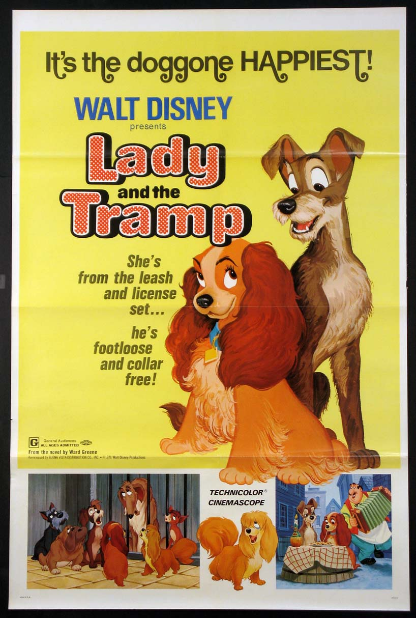 LADY AND THE TRAMP @ FilmPosters.com
