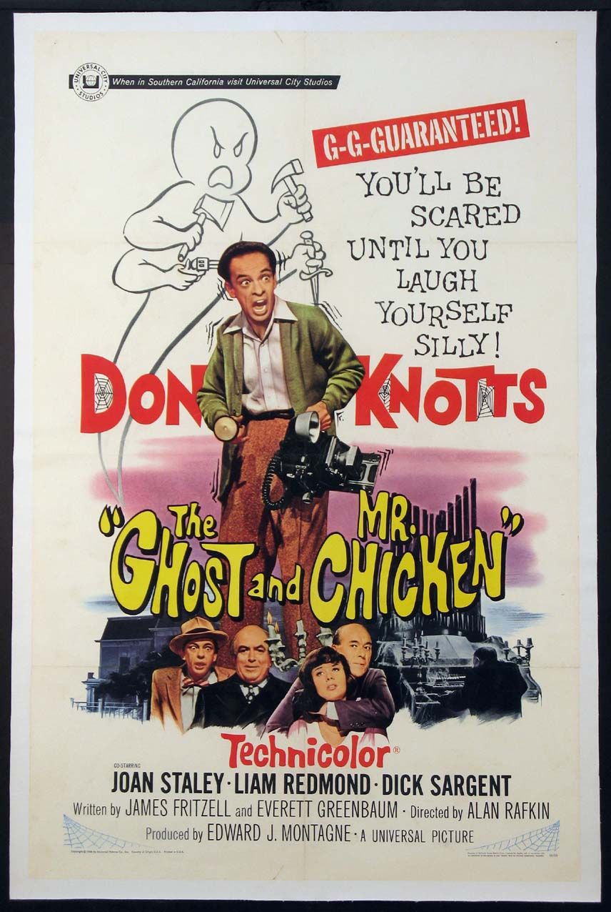 GHOST AND MR. CHICKEN @ FilmPosters.com
