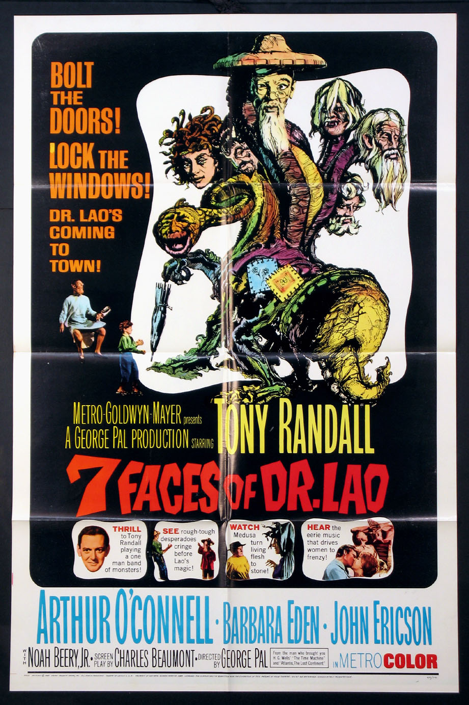 SEVEN FACES OF DR. LAO (7 Faces of Dr. Lao) @ FilmPosters.com